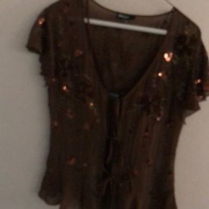 Camisole and blouse